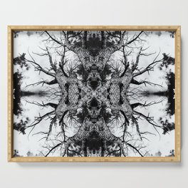 Gnarled Sleep of Forest Giant Serving Tray