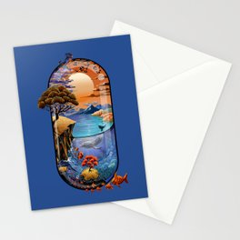 Nature is medicine Stationery Cards