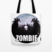 zombie Tote Bags featuring ZOMBIE by Zombie Rust