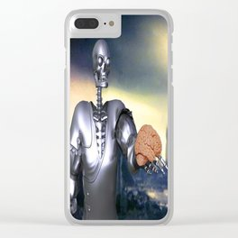 Hamlet Science-Fiction Clear iPhone Case