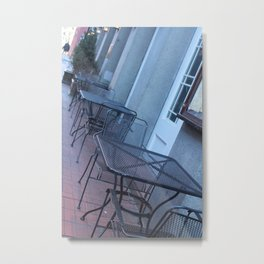 Table Top Town Metal Print