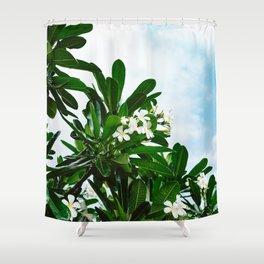 Hawaiian Blooms Shower Curtain