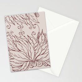 Growing of sorrow Stationery Cards