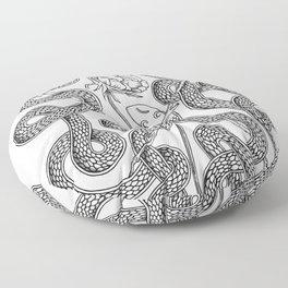 Snake Rune Floor Pillow