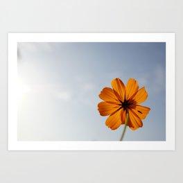 hello,Flower Art Print