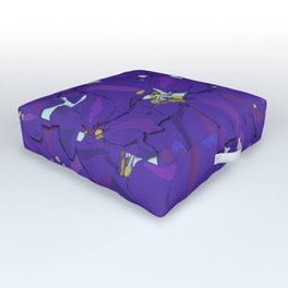 Larkspur Love Outdoor Floor Cushion