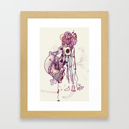 I'm a piece of everything  Framed Art Print