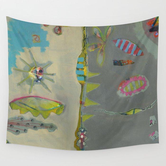 Bee Sunny Wall Tapestry
