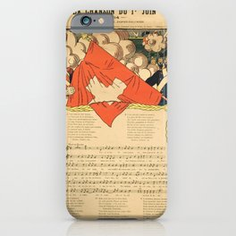 manifesto la chanson du 1er juin geneve iPhone Case
