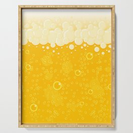 Beer Bubbles Serving Tray