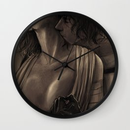 We're on fire Wall Clock