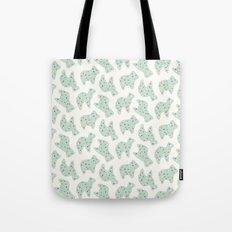 Animal Cookies - in Mint Tote Bag