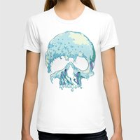silent T-shirts featuring Silent Wave by Huebucket