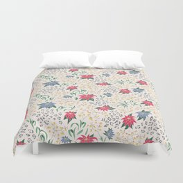 Tropical Opulence Pattern Duvet Cover