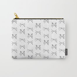 Kitty Whiskers Carry-All Pouch
