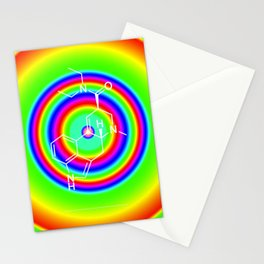 LSD rainbowdrops Stationery Cards
