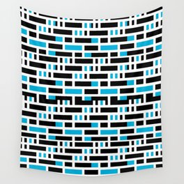 Linear Sequence Pattern Design Wall Tapestry