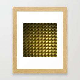 Goldjunge - Goldcubes Framed Art Print