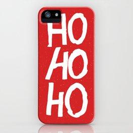Christmas Ho-Ho-Ho iPhone Case
