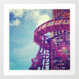 Disney Helter Skelter Art Print