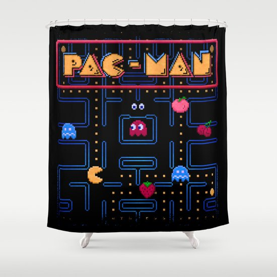 Man-Pac Shower Curtain
