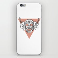 candy skull iPhone & iPod Skin