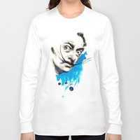 dali Long Sleeve T-shirts featuring Dali by Mitja Bokun
