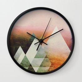 Fractions B18 Wall Clock