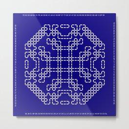 """Microchip"" 10 Metal Print"