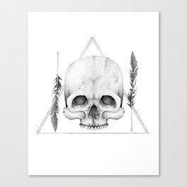The Graveyard Club Canvas Print