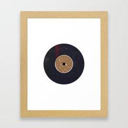Vinyl Record Star Sign Art | Gemini Framed Art Print