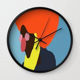 JW Stamp Wall Clock