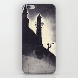 Waiting for caravel iPhone Skin