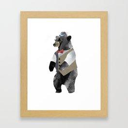 Fancy Bear Framed Art Print