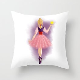 The Magic Bauble Throw Pillow