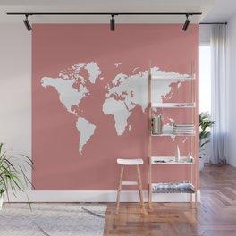 Pink Elegant World Wall Mural