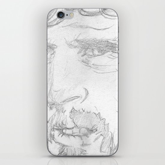 Kris Kristofferson - Sketch iPhone & iPod Skin