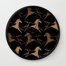 Horse Nation Wall Clock