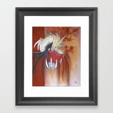 Kinryu-No-Mai Framed Art Print