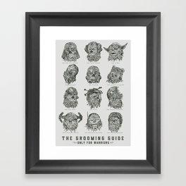 The Grooming Guide Framed Art Print