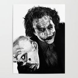Heath's Joker - Movie Inspired Art Poster