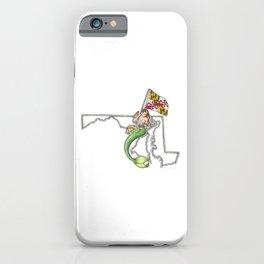 Maryland Mermaid iPhone Case