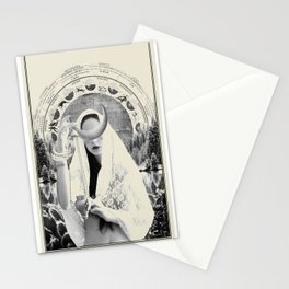 Fig. II - The High Priestess Stationery Cards