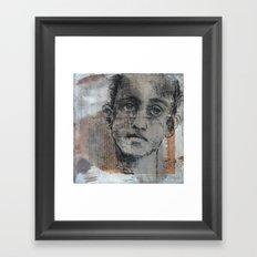 Ghost Runner Framed Art Print