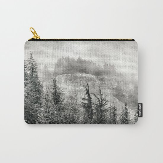 """""""Mountain light"""". Foggy forest. Carry-All Pouch"""