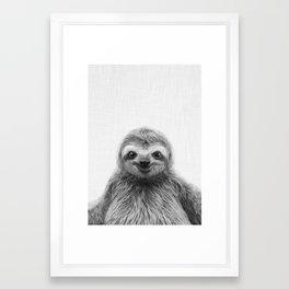 Young Sloth Framed Art Print