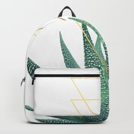 Succulent geometric Backpack