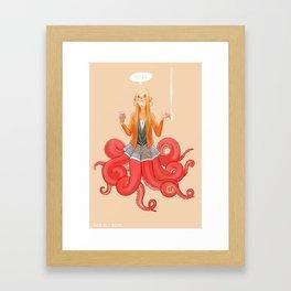 Octomaid Framed Art Print