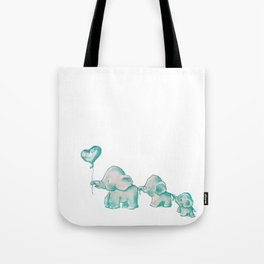 Green Guys Tote Bag