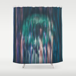 o is for ominous Shower Curtain